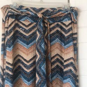 Robert Louis Skirts - Maxi Skirt with Tie Front NWOTs